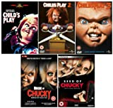 The Complete Chucky DVD Movie Collection: Child's Play / Child's Play 2 / Child's Play 3 / Seed of Chucky / Bride of Chucky