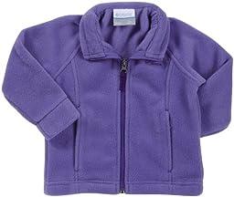 Columbia Baby Girls\' Benton Springs Fleece Jacket, Purple Lotus, 6-12 Months
