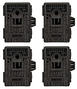 (4) MOULTRIE Game Spy M-880 Low Glow Infrared Digital Mini Trail Cameras - 8 MP by Moultrie