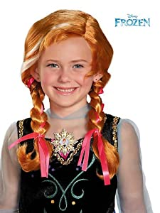 Frozen Anna's child wig from Disguise Inc