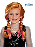 Disguise Disneys Frozen Anna Child Wig Girls Costume, One Size Child