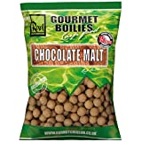 Rod Hutchinson Gourmet Boilies Carp Fishing Bait Food - Chocolate Malt 15mm 1Kg