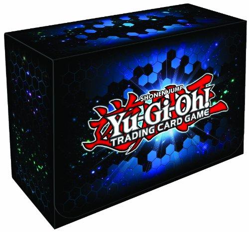 Yu-Gi-Oh! - Jeux de Cartes - Boites de Rangement - Deck Box Géante - Officiel Konami - Zexal Bleu