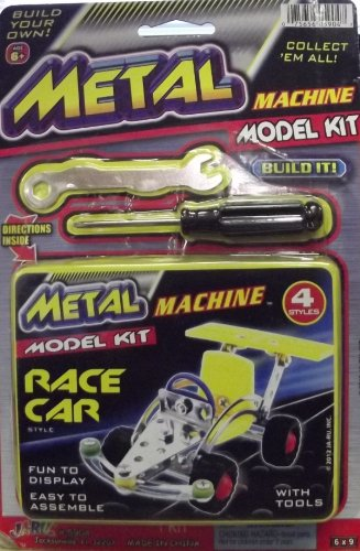 Metal Machine Race Car Model Kit