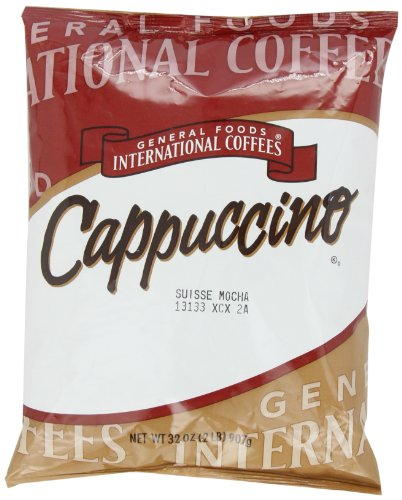 General Foods International Coffees Suisse Mocha Cappuccino Mix, 32-Ounce Packages (Pack of 6)