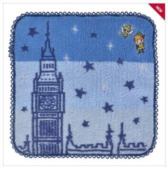 [Disney Mini Towel Graffiti Peter Pan Handkerchief New From Japan F/S] (Peter Pan Cast Costumes)