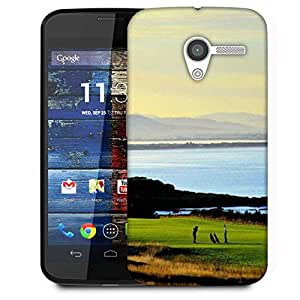 Snoogg Playing Golf Designer Protective Phone Back Case Cover For Moto X / Motorola X