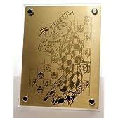 ジョジョの奇妙な冒険 オールスターバトル限定版特典 ジョルノ&ゴールド・エクスペリエンス アートプレート