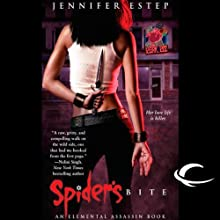 Spider's Bite: Elemental Assassin, Book 1 (       UNABRIDGED) by Jennifer Estep Narrated by Lauren Fortgang