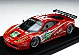 ★【BBR】(1/43) フェラーリ 458 イタリア GT2 ラグジュリー・レーシング 2011年 ル・マン24時間 #58 (BBRC62)