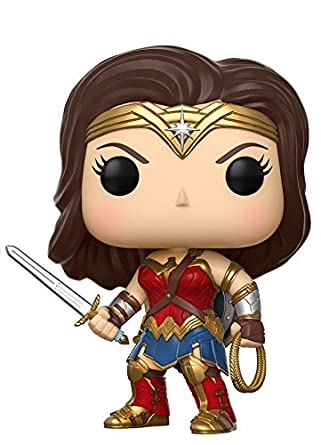 Figurine Pop - DC - Justice League - Wonder Woman (206)