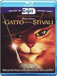 Il Gatto Con Gli Stivali (3D) (Blu-Ray 3D+Blu-Ray+E-Copy)