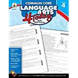 Common Core Language Arts 4 Today, Grade 4: Daily Skill Practice (Common Core 4 Today) ~ Carson-Dellosa Publishing