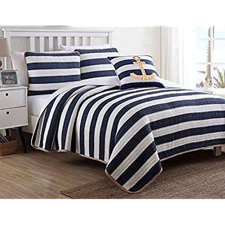 51zGf6Isn3L._SS450_ The Best Nautical Quilts and Nautical Bedding Sets