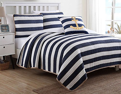 51zGf6Isn3L The Best Nautical Quilts and Nautical Bedding Sets