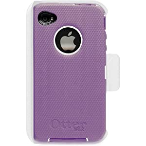 OtterBox iPhone 4 Defender Case with Holster Belt Clip, Purple