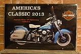 ハーレー クラシックバイク 写真カレンダー 2013年版 HARLEY M65333