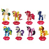 My Little Pony Original Minis Complete Set Of 8 Chrome Figures