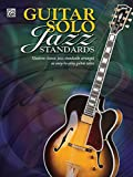 img - for Guitar Solo Jazz Standards book / textbook / text book