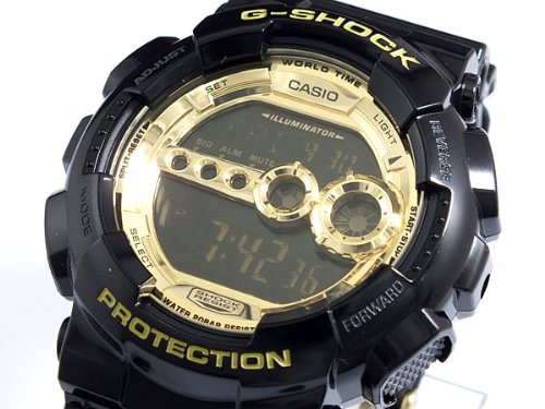 Casio CASIO G shock g-shock high luminance LED watch GD 100GB-1 [parallel import goods]