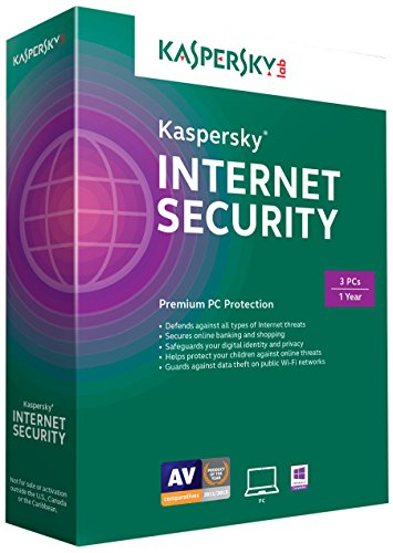 Kaspersky Internet Security 2015 (3 PCs) [OLD VERSION] (Kaspersky Internet Protection compare prices)