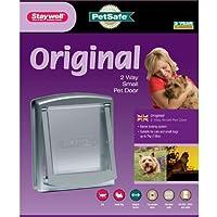 PetSafe Staywell Original 2-Way Pet Door - Small - Silver