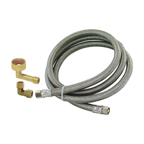 EASTMAN 5 Stainless Steel Dishwasher Hose 98522 (Eastman Dishwasher Hose compare prices)