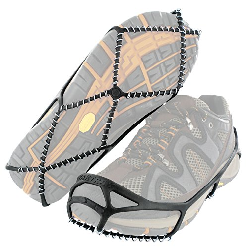 Yaktrax Walk Traction Cleats for Walking on Snow and Ice, Small (Green Fuel Tabs compare prices)