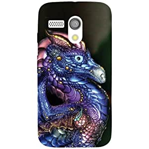 Motorola Moto G Back Cover - Abstract Designer Cases