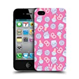 Head Case Yogurt And Ice Cream Fast Food Pattern Back Case For Apple iPhone 4 4S