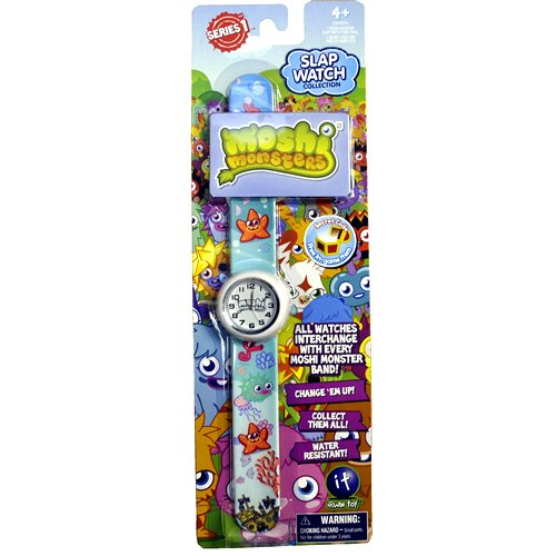 Moshi Monsters Slap Watch Fishies Random Case Color - 1
