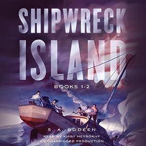 Shipwreck Island, Books 1-2 Audiobook