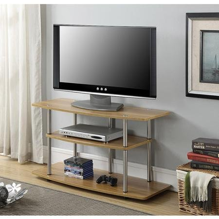 3-Tier TV Stand for Wide Screen Flat Panel TV's up to 42-