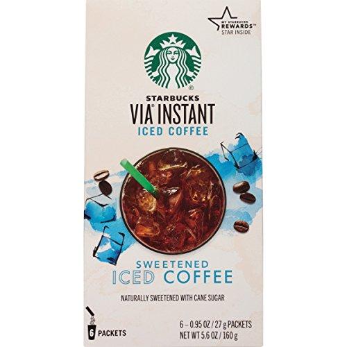 Starbucks VIA Instant Coffee, Sweetened Iced Coffee, 36 Count (Iced Via Coffee Starbucks compare prices)
