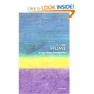 Hume: A Very Short Introduction (Very Short Introductions) A. J. Ayer