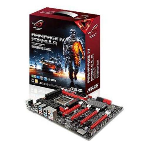 Asus Rampage IV Formula Battlefield 3 Edition Motherboard (Socket 2011, DDR3, 4 x PCI-Express x16, ATX, 8-Channel HD Audio, USB 3.0)