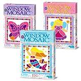 Great Gizmos 4M Easy-To-Do Mini Window Mosaic Art