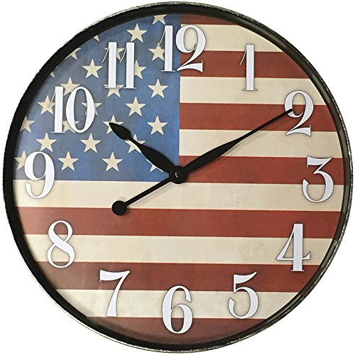 WESTCLOX 32897AF 12 American Flag Wall Clock (Corded Electric Clock compare prices)