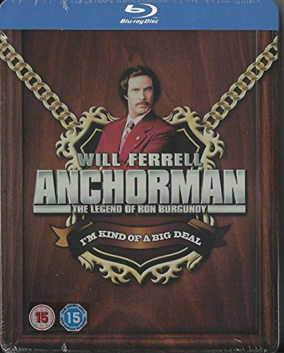 Anchorman: The Legend of Ron Burgundy - Zavvi Exclusive Limited Edition Steel...