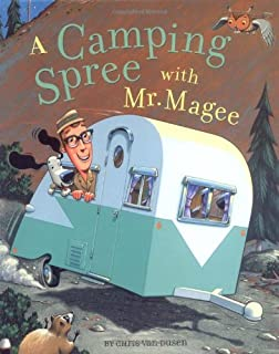 Book Cover: A Camping Spree With Mr. Magee