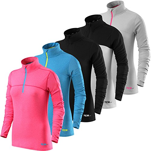 womens-tca-fusion-quickdry-long-sleeve-half-zip-running-top-black-black-m