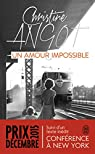 Un amour impossible par Angot