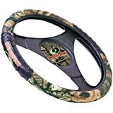 MSW3403 CAMO STEERING WHEEL COVER WITH MOSSY OAK BREAK-UP INFINITY PATTERN