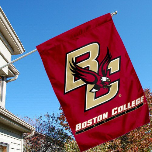 Boston College Eagles BC University College House Flag
