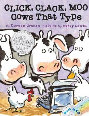 Click Clack Moo( Cows That Type [With CD (Audio)])[CLICK CLACK MOO W/CD][Paperback] PDF