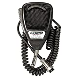 Astatic 302-636L Black Noise Canceling CB Microphone