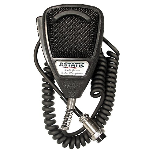 Why Choose Astatic 302-636L Black Noise Canceling CB Microphone