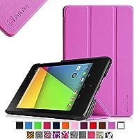 Fintie Nexus 7 (2nd Gen FHD) Case, [Ultra Slim] Lightweight Smart Cover With Auto Wake / Sleep for Google Nexus 7 2013 Tablet - Violet from Fintie