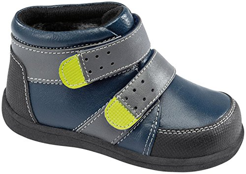 See Kai Run Boys' Skr Leander (Infant/Toddler) - Navy - 7 Toddler front-616236