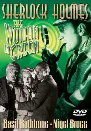 SHERLOCK HOLMES/THE WOMEN IN GREEN/11X17 CARDBOARD POSTER
